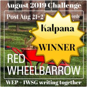 WEP August Winner